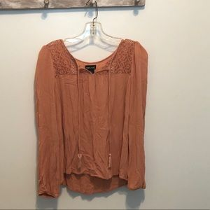 WET SEAL long sleeve blouse - Large